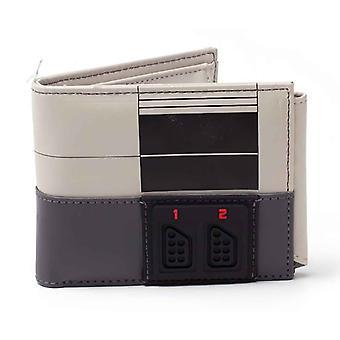 Nintendo lompakko NES Console uusi virallinen Grey bifold