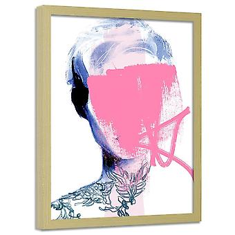 Poster In Frame, Woman Without A Face 2