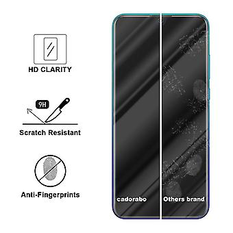 Cadorabo Tank Foil for Huawei P SMART 2019 - Protective Film in KRISTALL KLAR - Tempered Display Protective Glass in 9H Hardness with 3D Touch Compatibility
