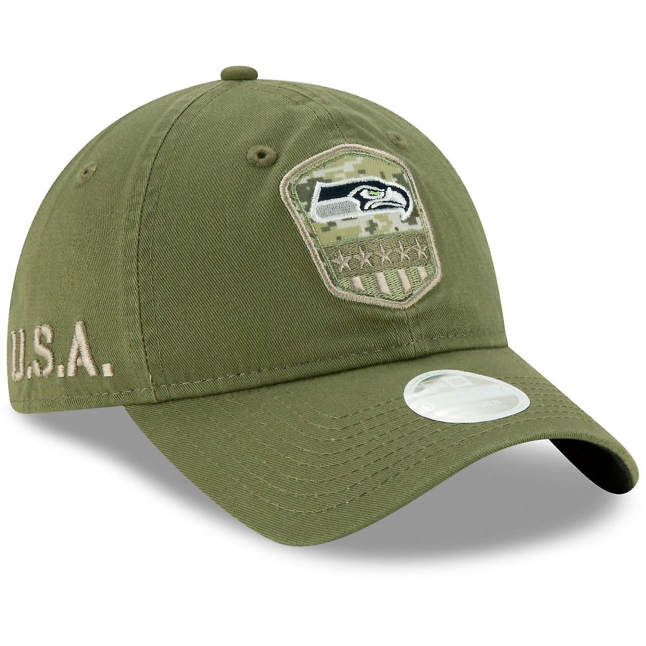 STS Seattle Seahawks New Era 9Twenty Damen Cap