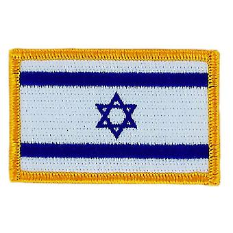 Patch Ecusson brode flagga Israel Thermocollant Insigna Blason