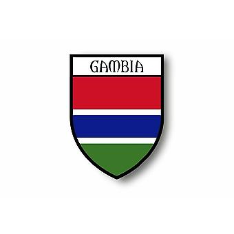 Sticker Adesivo Moto Auto Blason Città Bandiera Gambiagambia Gambiagambia