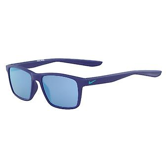 Nike WHIZ EV1160 434 Matte Indigo Force/Light Blue Mirror Sunglasses