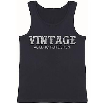 Vintage - Aged To Perfection - Mens Vest