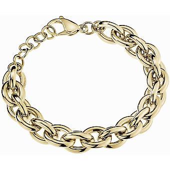 Calvin Klein KJALJB100200 Gold Tone Statement Collection Bracelet