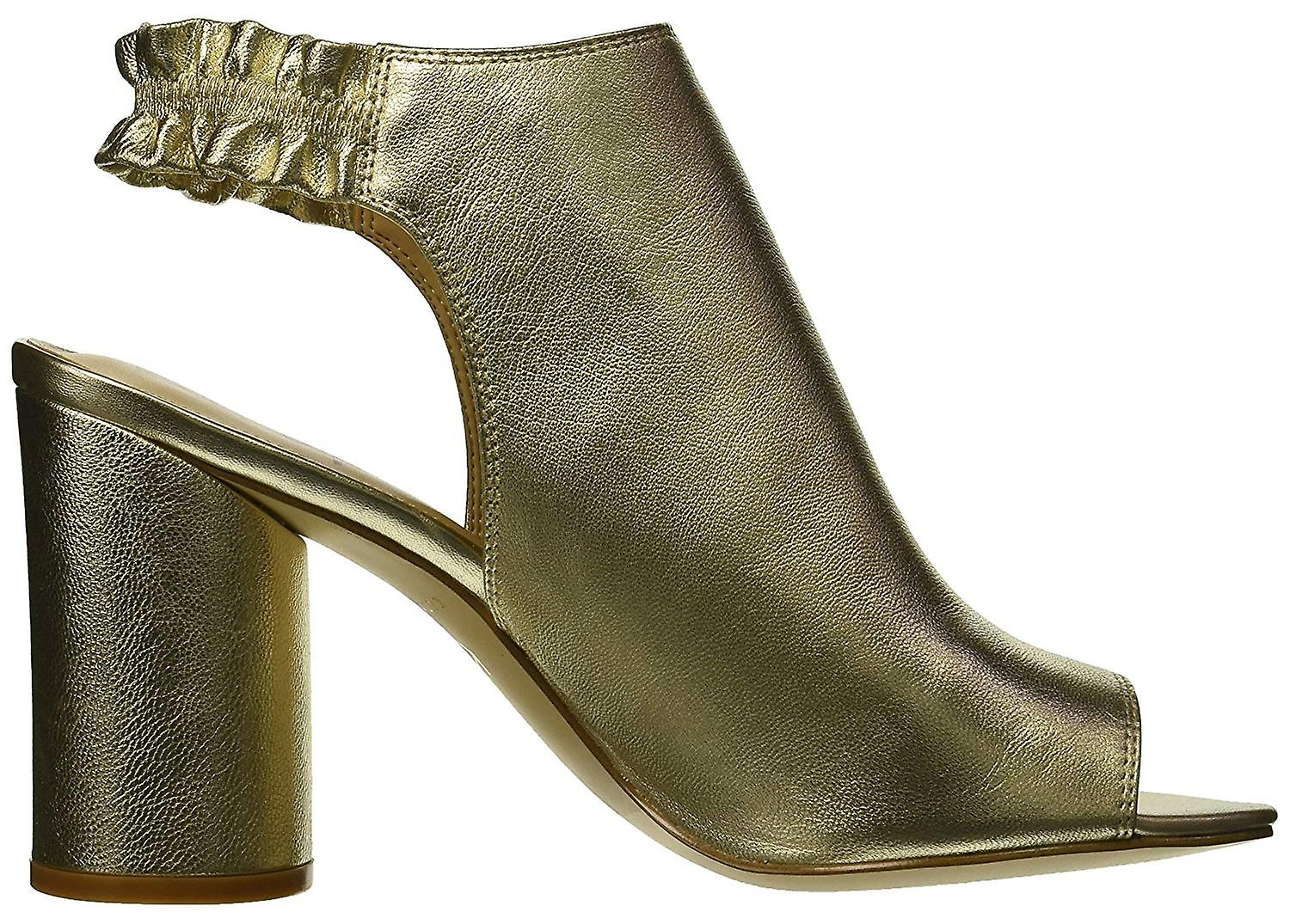 Katy Perry Frauen's Die Jocelyn-Tumbled Metallic Heeled Sandale