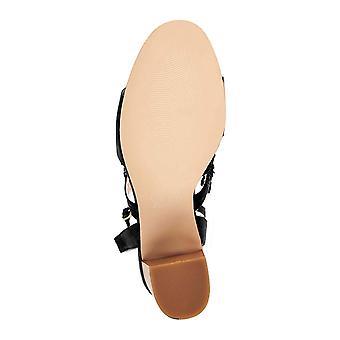 C. Wonder Women's Gabrielle Suede Block Heel Sandals