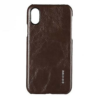 Hull For IPhone X Rigid And Brown
