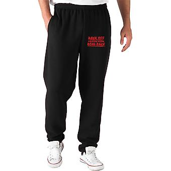 Black tracksuit pants fun2073 i suffer from road rage