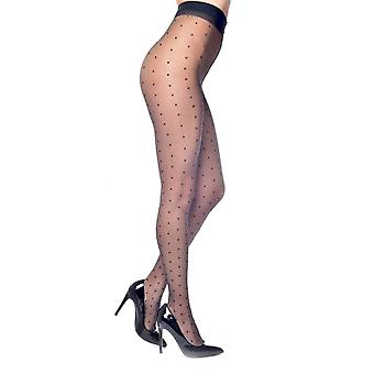 Pamela Mann Luxury Sheer Polka Dot Tights