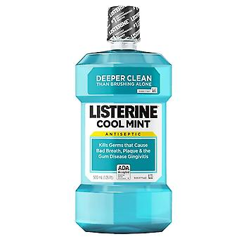 Listerine cool mint antiseptic mouthwash, mint, 16.9 oz