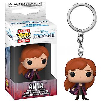 Anna from Disney: Frozen 2 Funko Pop! Keychain