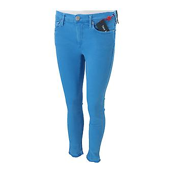 True Religion HALLE CROP FRENCH BLUE Women's Jeans Blue NEW Pants