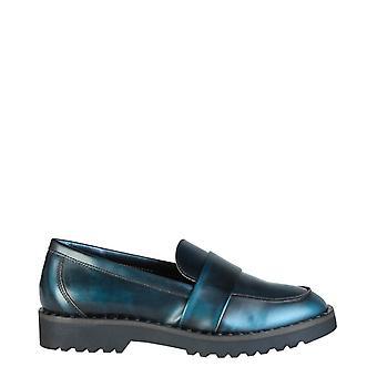 Ana lublin - helga women's moccasins, blue