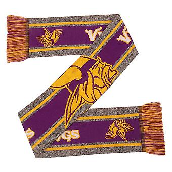 FOCO NFL Winter Scarf - GREY BIG LOGO Minnesota Vikings