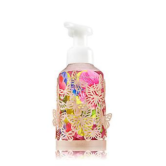 Bath & Body Works Gold Butterfly Hand Soap Sleeve