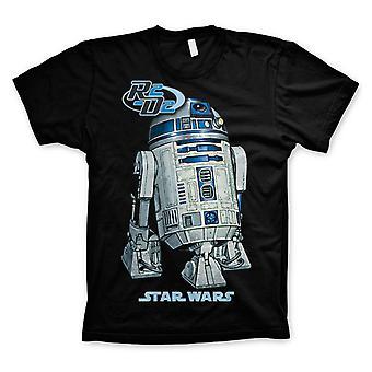 R2-D2 Star Wars en ny Hope Empire slår tillbaka officiella T-shirt