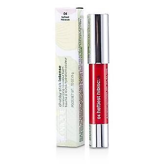 Clinique Chubby Stick Intensive feuchtigkeitsbefeuchtende Lippenfarbe Balsam - Nr. 4 Heftiest Hibiskus 3g/0.1oz