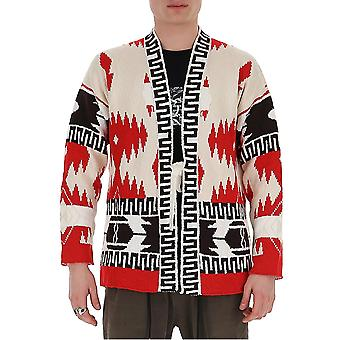 Alanui Lmhb014s200110360188 Men's Multicolor Cotton Cardigan