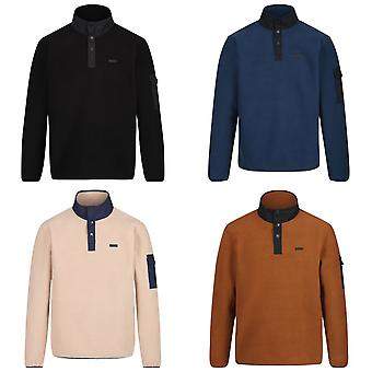 Regatta Mens Cormac Heavyweight nappi kaula Fleece pusero