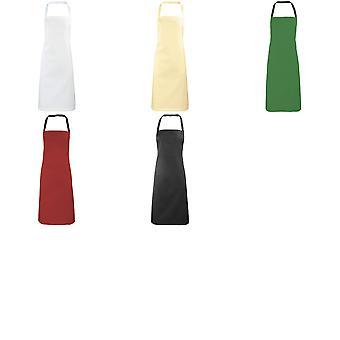 Premier damer/kvinners forkle (ingen lomme) / Workwear (pakke med 2)