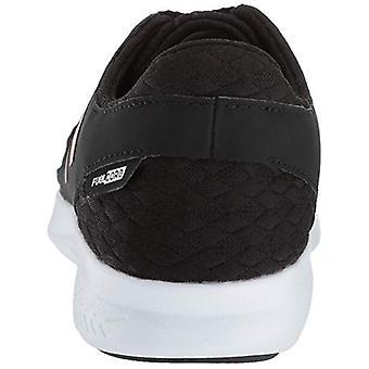 جديد توازن الفتيات & أبوس ساحل V3 Fuelcore تشغيل الأحذية، أسود / أبيض، 6 M الولايات المتحدة طفل كبير