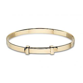 Little Star Flores Gold Baby Bangle