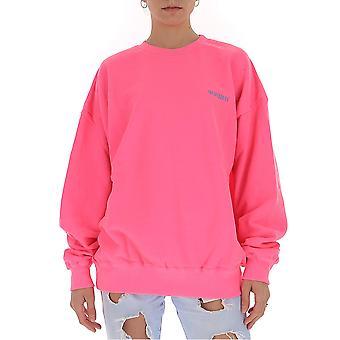 Ireneisgood Igfcn003680 Femmes-apos;s Pink Cotton Sweatshirt