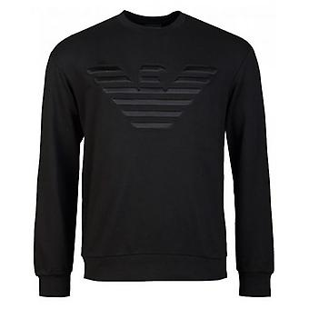 Armani Kabartmalı Kartal Sweatshirt