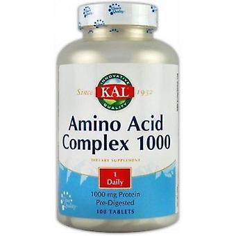 Solaray Amino Acid Complex 100 Tablets