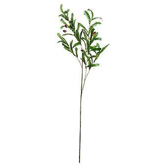 Hill Sisätilat Keinotekoinen Oliivi Branch