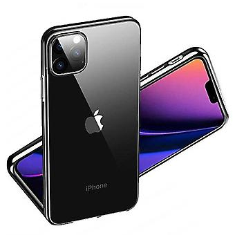 iPhone 11 Pro Max Shell Transparant/Zwart
