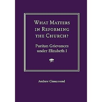 What Matters in Reforming the Church Puritan Grievances Under Elizabeth I by Cinnamond & Andrew
