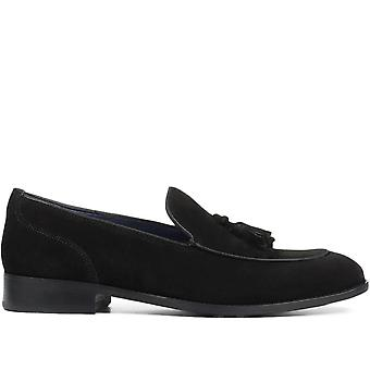 Jones Bootmaker Mens Leather Tassel Loafer