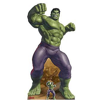 The Incredible Hulk Marvel Legends officiële kartonnen cutout / Standee