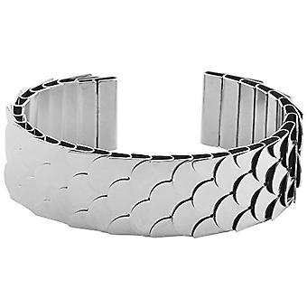 Women-Bangle stainless steel Accent Zirconia 19 cm -003595000055