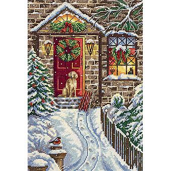 Panna Cross Stitch Kit : Christmas Eve