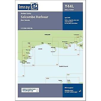 Imray Chart Y44 Salcombe Laminated - Laminated Y44 Salcombe (Small For