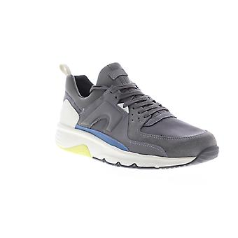 Camper Drift Mens Gray Suede Low Top Lace Up Euro Sneakers Schoenen
