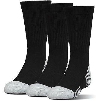 Under Armour Heatgear Tech Crew Socks 3-pack Black