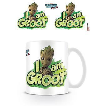 Strażnicy Galaktyki Vol 2 I Am Groot Kubek