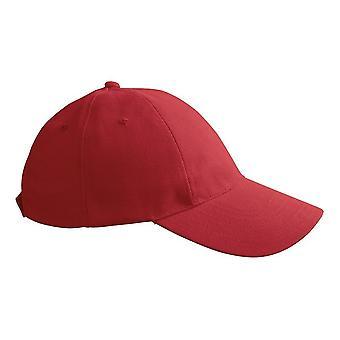 ID Unisex Brushed Cotton Twill Baseball Cap