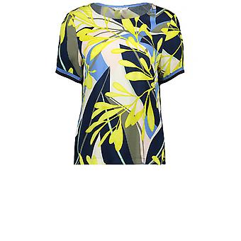 Sandwich Clothing Lime Bold Print Blouse