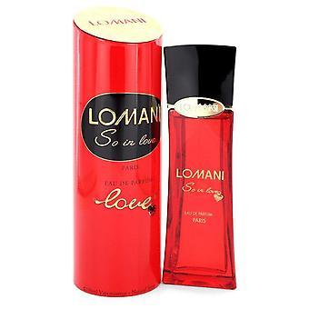 Lomani So In Love Eau De Parfum Spray By Lomani 3.3 oz Eau De Parfum Spray