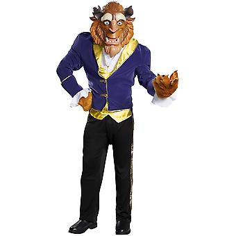 Deluxe Beauty And The Beast Costume For Adults