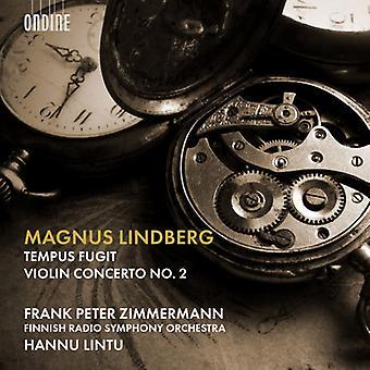 Lindberg - Tempus Fugit / Violin Concerto 2 [SACD] USA import