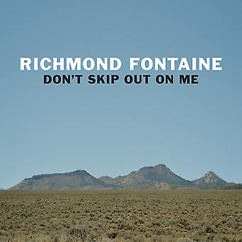 Richmond Fontaine - Don't Skip Out on Me [CD] USA import
