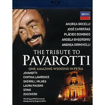 Eerbetoon aan Pavarotti [BLU-RAY] USA importeren
