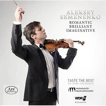 Schubert / Semenenko / Firsova - Romantic / Brilliant / Imaginative [SACD] USA import
