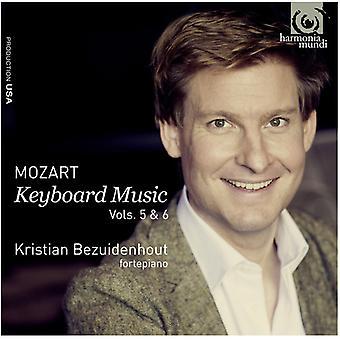 W.a. Mozart - Mozart: Keyboard Music, Vols. 5 & 6 [CD] USA import